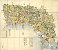 豊前国絵図 古地図 / 地図のご購...