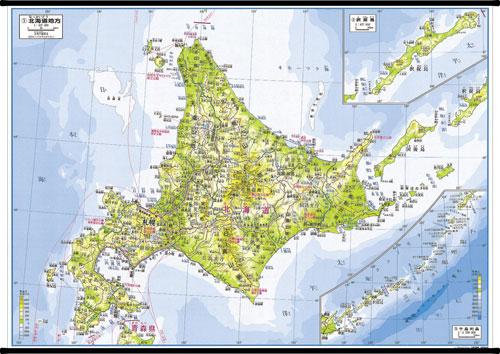日本地方別地図 北海道地方 ... : 無料教材プリント : プリント