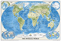 World Physical [Enlarged] ( 地勢・大 )