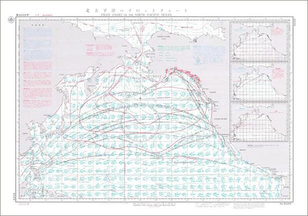 北太平洋_北太平洋パイロット・チャート 11月 / 地図のご購入は「地図の ...