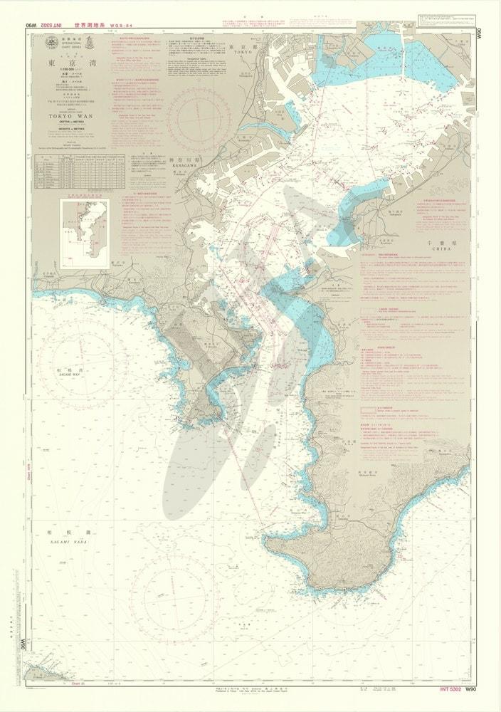 東京 湾 海図
